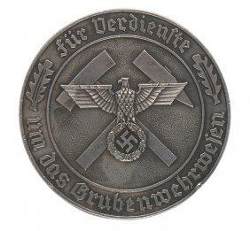 German Wwii Mine Rescue Service Medal
