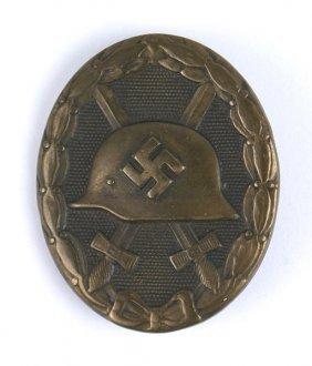 German Wwii Wound Badge Black