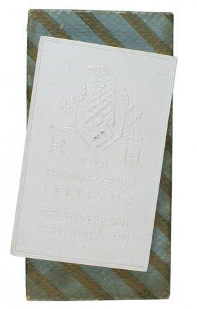 German Reichsverband Hound Dog Medal
