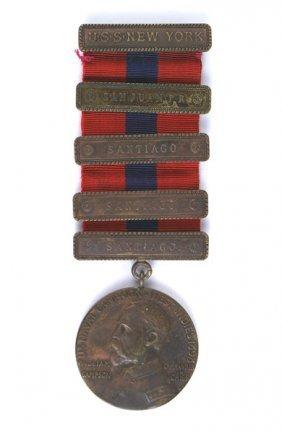 Spanish-american War Sampson Medal