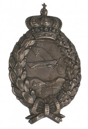 Imperial German Bavarian Pilot Badge