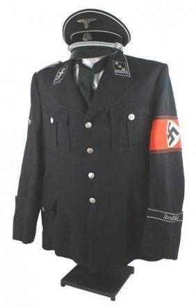 German Ss-standarte 1 Vt Uniform Fritz Witt