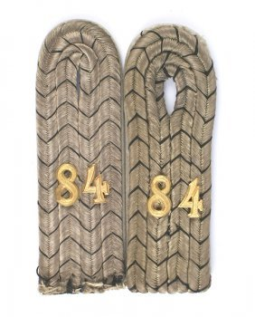Imperial German Schleswig Shoulder Boards