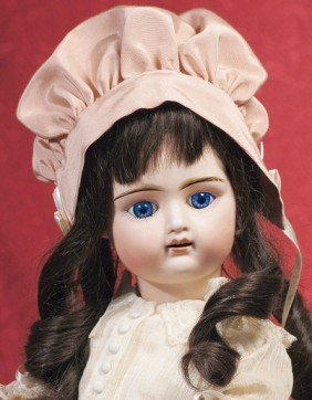 FRENCH BISQUE BEBE BY MYSTERY MAKER.  Marks:  G Par