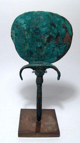 Egyptian Bronze Mirror, Late Period