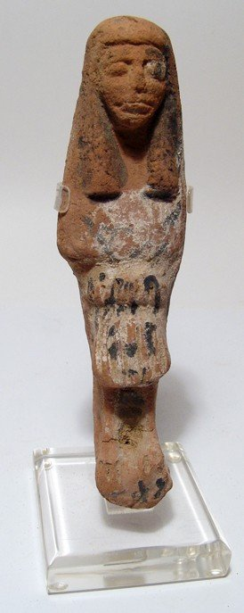 Attractive Late New Kingdom Terracotta Ushabti