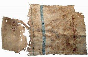 Pair Of Coptic Textile Panels, Egypt