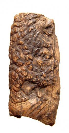 Graeco-Roman, Carved Relief Depicting Herakles