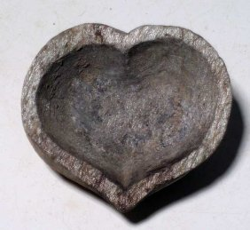 Ghandaran Stone Oil Lamp From The Indus Valley