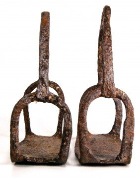 Stirrups, Revolutionary War Iron
