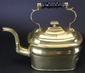 Brass Kettle Circa 1875