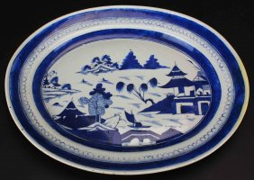 Chinese Export Platter, Canton, C. 1840