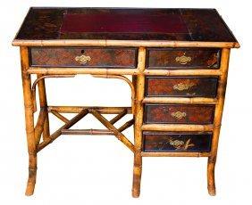 Desk Bamboo, Chinoisserie, Circa 1870