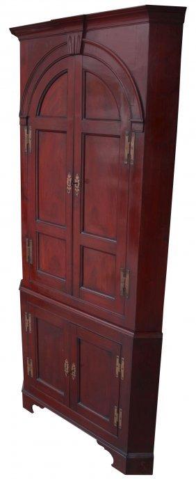 Diminutive Corner Cabinet, 18th Century