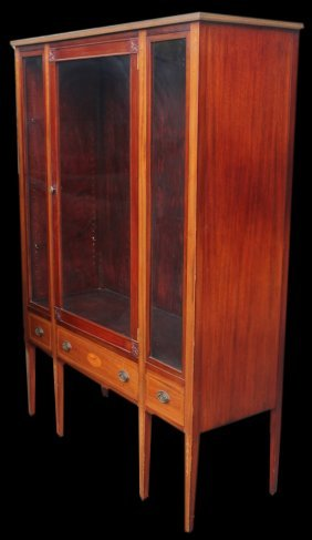 Cabinet, China Or Curio, Early 20th Century