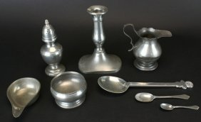 Stieff Pewter, Colonial Williamsburg, C.1960's