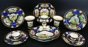 Booth's China, Worcester Style, Lot (15) Pieces
