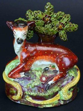 Staffordshire Deer C. 1800