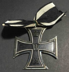 Imperial German W.w. I 1914 Iron Cross 2nd Class