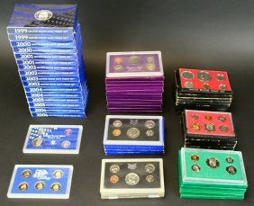Proof Sets, Coins, 1968-2006