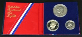 U. S. Bicentennial Silver Coin Proof Set