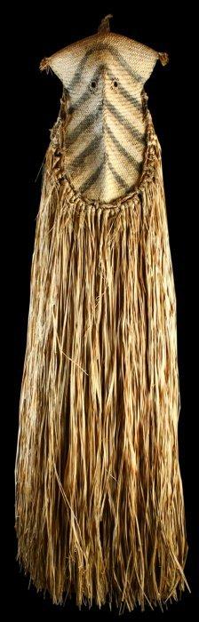 African Mask, Woven Grass