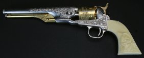 Franklin Mint Repro Colt Model 1861 Pistol