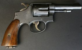 S&w Victory Model 10, Navy Marked, With Holster