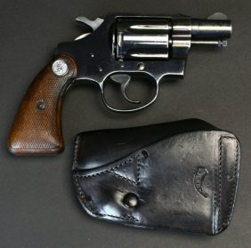 Colt, Detective Special, Us Marked, 'spook Gun'