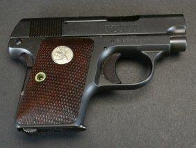 Colt Mint, Model 1908 .25 Acp Us Prop Vest Pocket