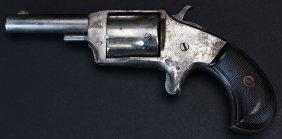 """Antique Nickel Plated Pocket Revolver """"defender"""""""