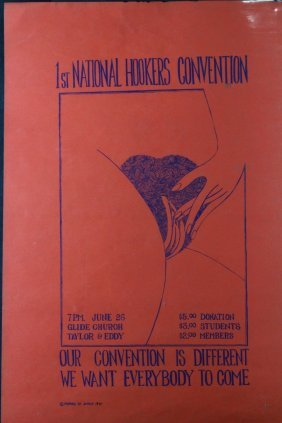 Poster, First National Hookers Convention