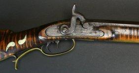 A Scarce Flintlock Rifle By Conrad Horn 1820-30