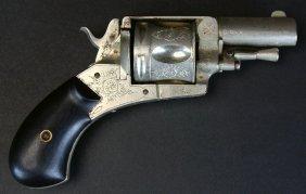 Antique Belgian Pocket Pistol / Relic