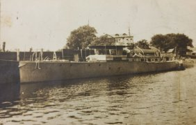 Photograph, Steam Yacht, C. 1900