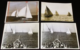 Photographs, 4, Yachts, America's Cup, 1934