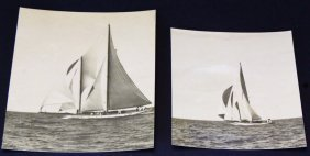 Photographs, 2, Racing Yachts, C. 1920