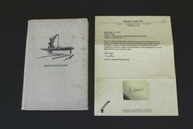 "Book,""arbeitsschlacht, Signed H. Himmler W/c.o.a."