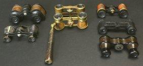 Opera Glasses, Seven Pair Various Types