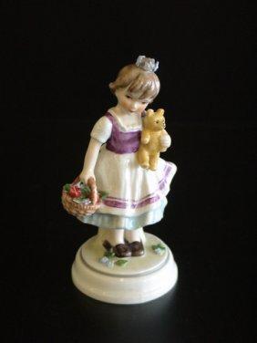 Goebel Lore 242 First Love, Figurine # 8/493, 5.5