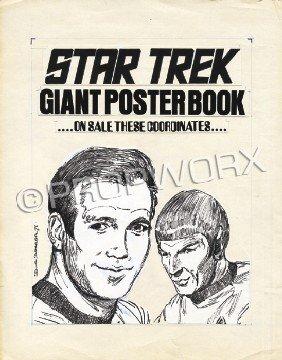 Star Trek Poster Book Original Art