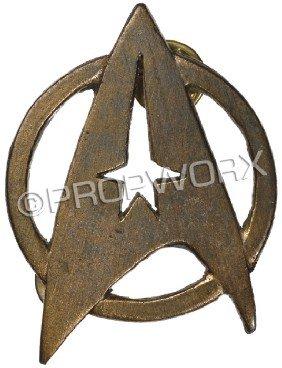 Starfleet Insignia Pin - TWOK Through GEN