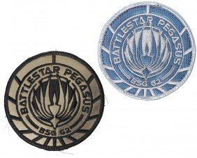 Battlestar Galactica Set Of Pegasus Patches