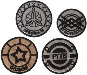 Battlestar Galactica Patch Collection