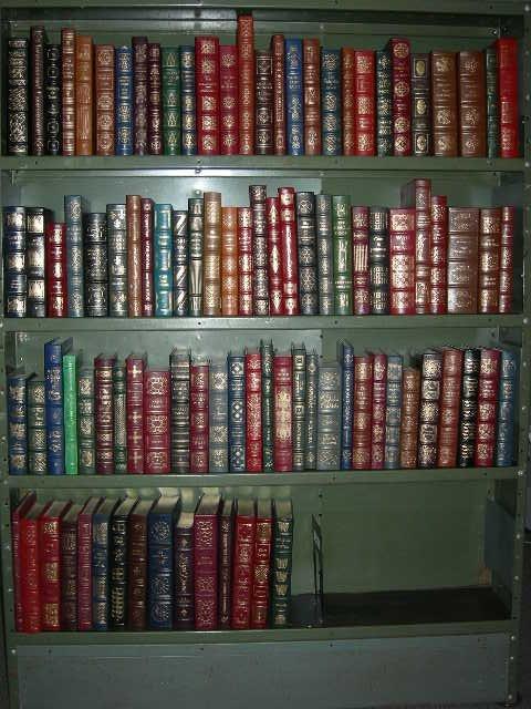 Easton Press 100 Greatest Books Ever Written 13 book Lot