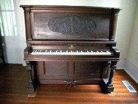 230 Lester Upright Grand Piano Lot 230