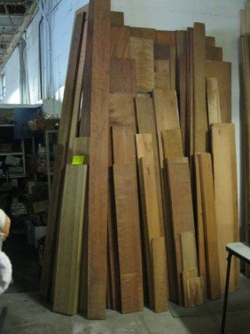 HARDWOOD EXOTIC WOOD LOT