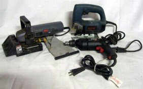 THREE ELECTRIC POWER TOOLS