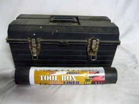 HQ TOOL BOX LOADED WITH TOOLS
