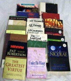 RELIGIOUS BOOK LOT